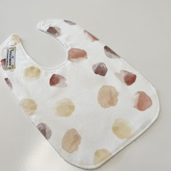 Earth in watercolour  bib