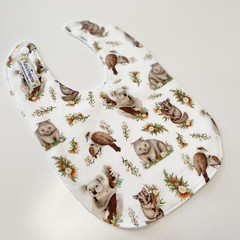 Australiana animals bib