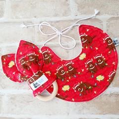 Christmas Bib and Teether Set