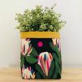 Large fabric planter | Storage basket | Pot cover | PROTEA & SPOTS