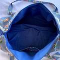 Blue Beach Duffel Bag