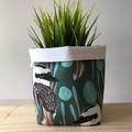 Small fabric planter | Storage basket | Pot cover | KOOKABURRA
