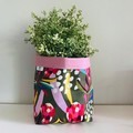 Large fabric planter | Storage basket | Pot cover | OLIVE PROTEA