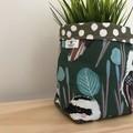 Small fabric planter   Storage basket   Pot cover   KOOKABURRA
