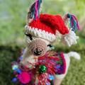 Christmas Special Edition Llama Teddy Handmade Christmas Decoration Llama Softie