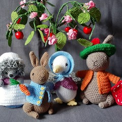 gift set of Peter rabbit characters