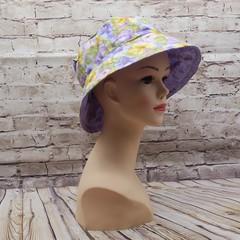 Purple floral Bucket Hat