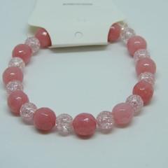 Shades of pink toddler bracelet
