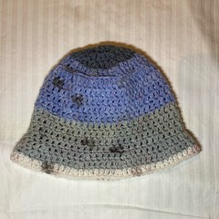 mixed colour cotton baby bucket hat