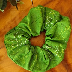 """Christmas Scrunchy """"Abstract Trees"""""""