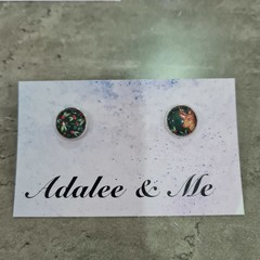 Christmas - Christmas Charm Jamberry stud earrings