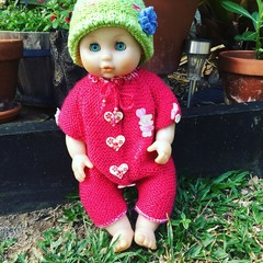 Enchanted Baby ROMPER and BEANIE set