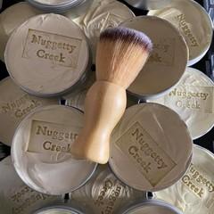 Shaving soap 180g and shaving brush