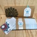 CALM Lavender Eye Pillow 'limited addition Kiwi fern print'