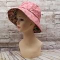 Pink Floral Bucket Hat