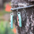 Fancy Sterling Silver Ear Hooks (suitable for polymer clay)