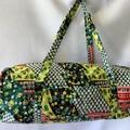 Green Patch Duffel Bag