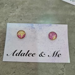 Rapunzel Jamberry stud earrings