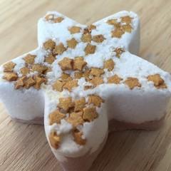 'Caramel Vanilla' Star Bath Bomb