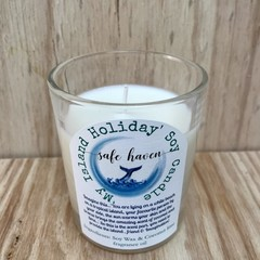 'My island holiday' Soy Candle (coconut lime scent)