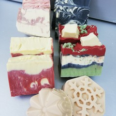 Box of Christmas Soaps
