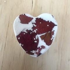 'Rose Geranium' Heart Bath Bomb