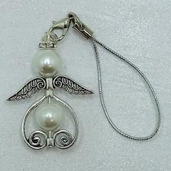 Heart Angel Beaded Decoration/Necklace Pendant