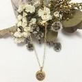Evil eye necklace- Gold filled