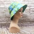 Green/blue maple leaf Bucket Hat