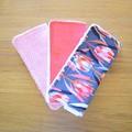 Cotton washer trio packs - Pinks