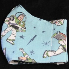 Toy Story Fabric Face Masks Size: 3-6yrs/7-12yr kids Ready Made