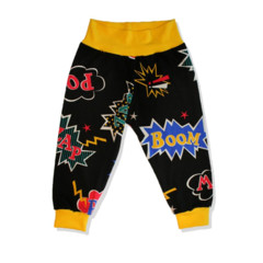 SIZE 00 Baby Pow Superhero Banded Pants - Free Post