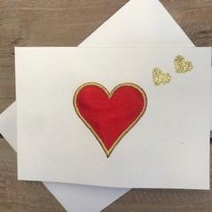 Simple Love Heart card