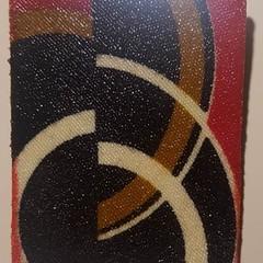 Exclusive Eryka Garbutt Designs Art Deco Brooches No.5