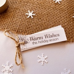 Gift tags - Christmas Wishes