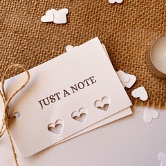 Gift tags - Just a note