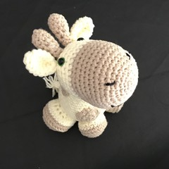 Crochet Giraffe, Amigurumi, stuffed animal
