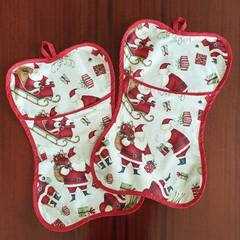 "Furbaby Stocking ""Santa"""