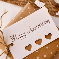 Gift tags - Happy Anniversary