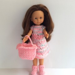 Knitted Outfit for your Corolle/Paola Reina Doll