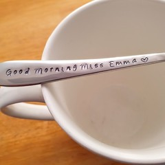 Custom Good Morning  Teacher Spoon
