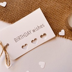 Gift tags - Birthday Wishes
