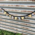 Mother's Day Gift - Mini magnetic bunting