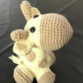 Crochet Giraffe, Amigurumi, stuffed animal