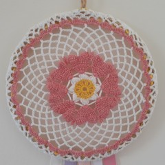 Crochet and Ribbons Dream Catchers