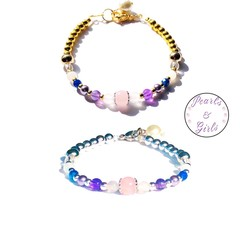 Miscarriage & Pregnancy Loss Precious Gemstone Bracelet