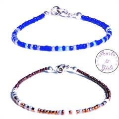 Personalised Morse Code bracelet for men