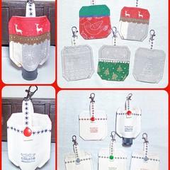 Christmas limited edition🎄Hand sanitizer bottle holder
