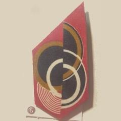 Exclusive Eryka Garbutt Designs Art Deco Brooches No.6