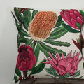 Australian Flowers Collection- Linen Cushion Covers- Handmade